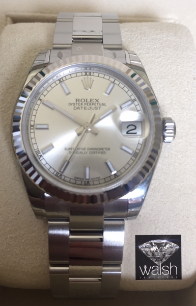 Rolex 178274 silver