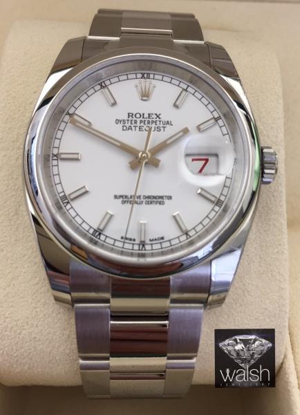 Rolex 116200 white